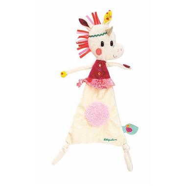 Lilliputiens, kocyk przytulanka w pudełku Jednorożec Loiuse