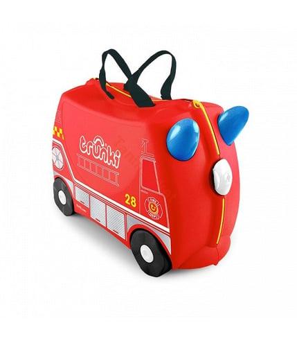 Jeżdząca walizeczka - wóz strażacki Frank
