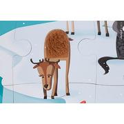 Janod, puzzle sensoryczne 20 elementów Lodowa kraina