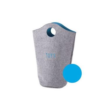Filcowa torba na zabawki miętowy 31x32x72