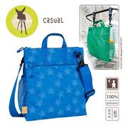 Lassig, casual Label Torba do Wózka Reflective Star blue