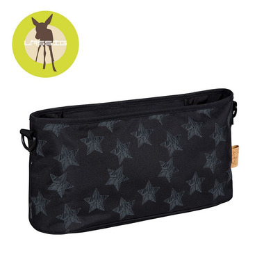 Lassig, casual Label Organizer do Wózka Reflective Star black