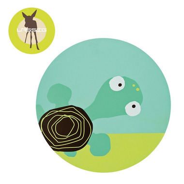 Lassig, podkładka silikonowa do posiłku Wildlife Żółw