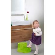 Childhome, Podest dwustopniowy i krzesełko ergonomiczne 2w1 fuksja
