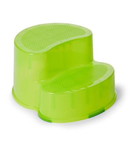 Childhome, Podest dwustopniowy i krzesełko ergonomiczne 2w1 limonka