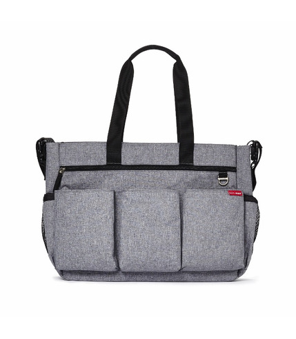 Torba Double Signature Heather Grey