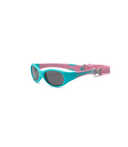 Okulary przeciwsłoneczne Explorer - Aqua and Pink 0+
