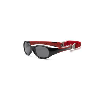 Okulary PRZECIWSŁONECZNE Explorer - Black and Red 2+