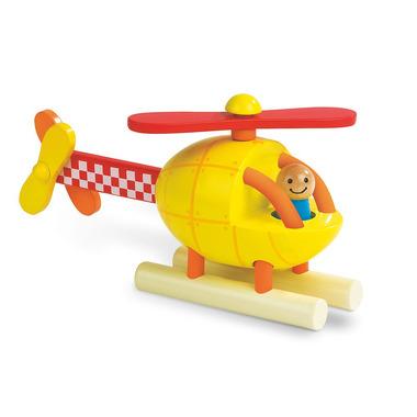 Janod, helikopter drewniany magnetyczny