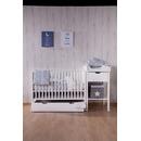 Childhome, Drewniana barierka do łóżka 120cm biała