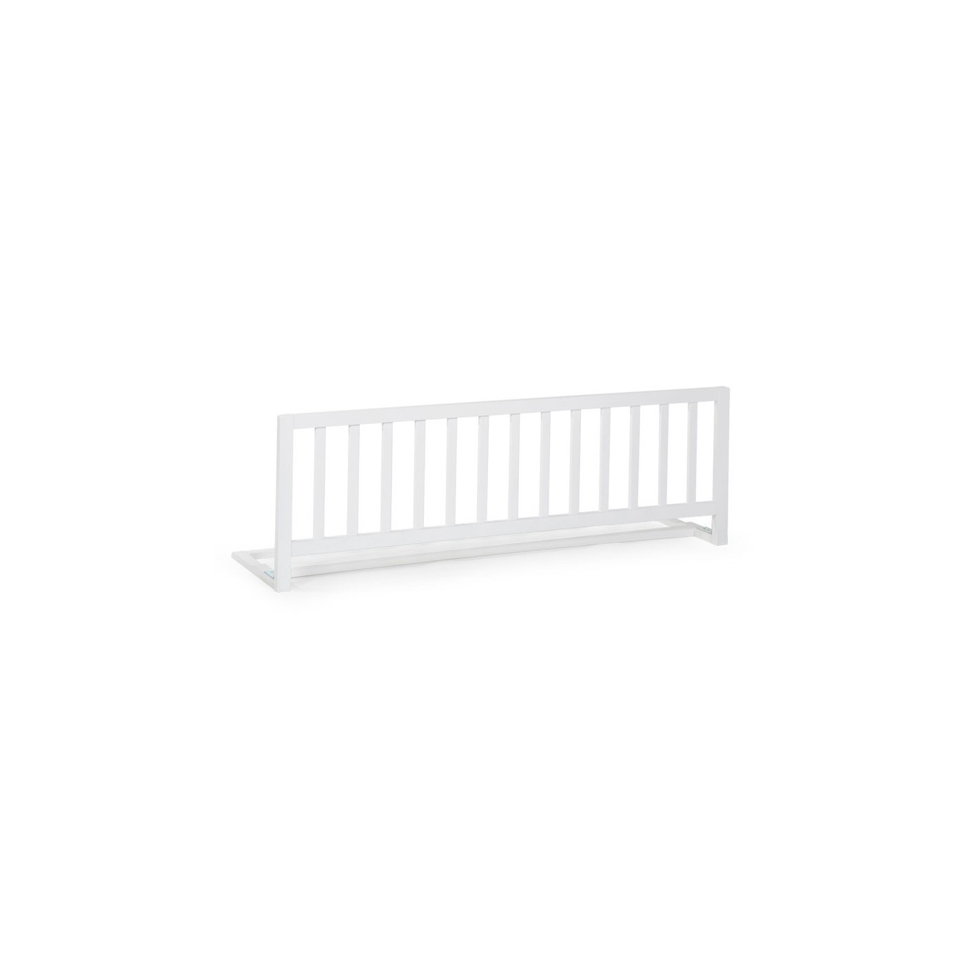 Childhome Drewniana Barierka Do łóżka 120cm Biała