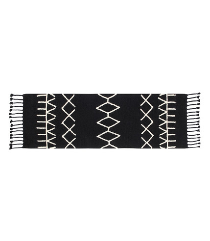 Dywan BLACK&WHITE 80x230cm BEREBER BLACK
