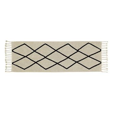 Dywan BLACK&WHITE 80x230cm BEREBER BEIGE
