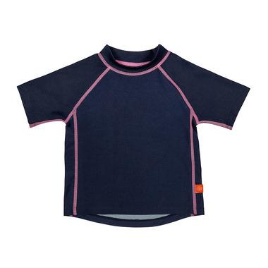 Koszulka T-shirt do pływania Navy, UV 50+, 18-24mcy