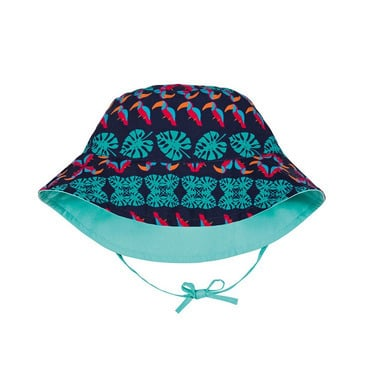 Lassig, kapelusz dwustronny UV 50+ Aqua, 0-6 mcy
