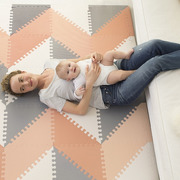 Mata Playspot Grey/Peach GEO