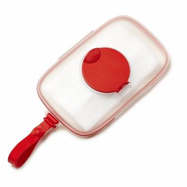 Skip Hop, pojemnik na mokre chusteczki Swipes Red