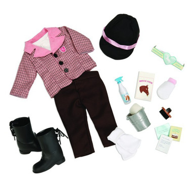 Our Generation, Riding Outfit and Hores Care Set