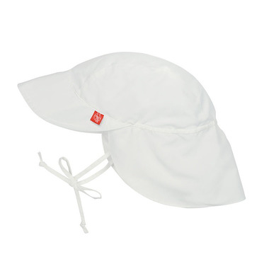 Lassig, czapka z daszkiem, UV 50+ White, 6-18 mcy