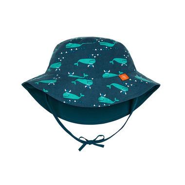 Kapelusz dwustronny, UV 50+ Blue whale, 0-6 mcy