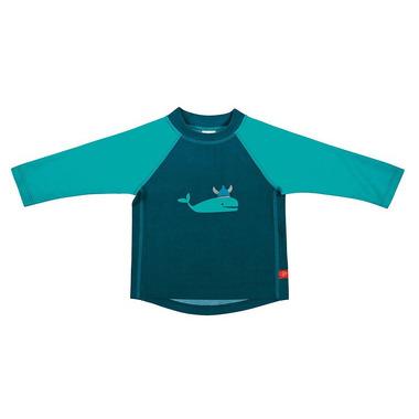Lassig, koszulka do pływania z długim rękawem Blue whale, UV 50+, 18-24 mcy