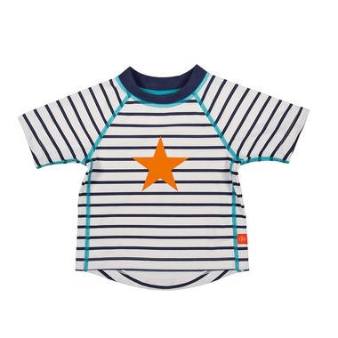 Koszulka T-shirt do pływania Sailor, UV 50+, 0-6 mcy