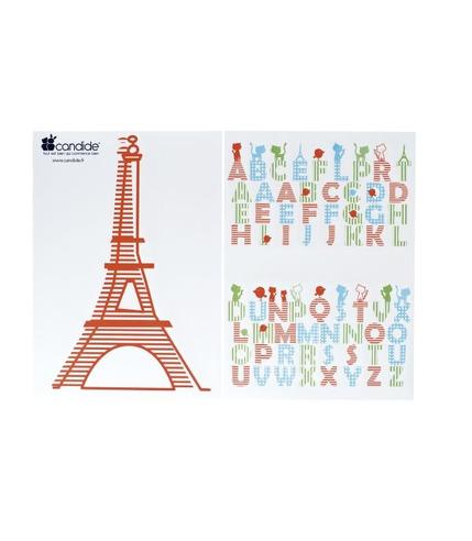 Naklejki ścienne kolekcja Paris
