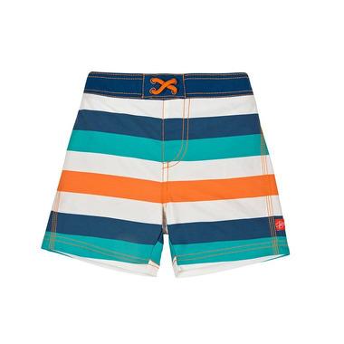 Lassig, spodenki do pływania z pieluszką Multistripe, UV 50+, 12-18 mcy