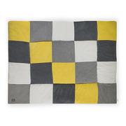 Jollein, Mata Playpen żółto-szara 80x100cm