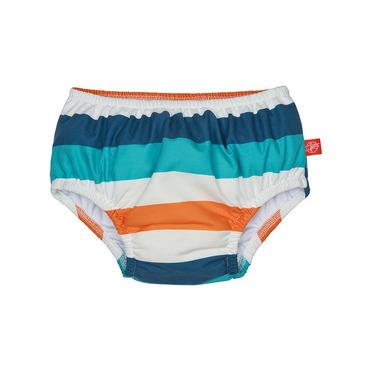 Lassig, majteczki do pływania z pieluszką Multistripe, UV 50+, 6-12 mcy