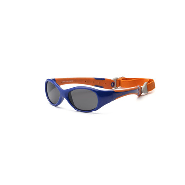 OKULARY Z POLARYZACJĄ EXPLORER Navy and Orange 2+