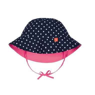 Lassig, kapelusz dwustronny UV 50+ Polka dots, 24-36 mcy