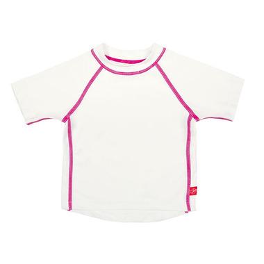 Lassig, koszulka T-shirt do pływania White, UV 50+, 12-18 mcy