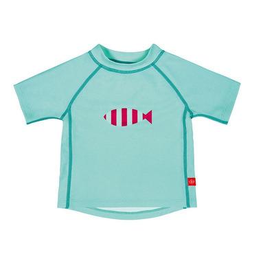 Koszulka T-shirt do pływania Aqua, UV 50+, 0-6 mcy