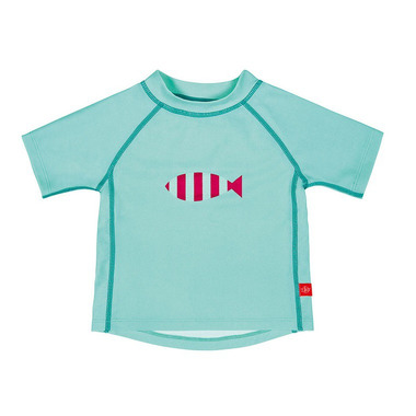 Lassig, koszulka T-shirt do pływania Aqua, UV 50+, 0-6 mcy