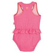 Lassig, kostium do pływania jednoczęściowy z pieluszką Light pink, UV 50+, 0-6 mcy