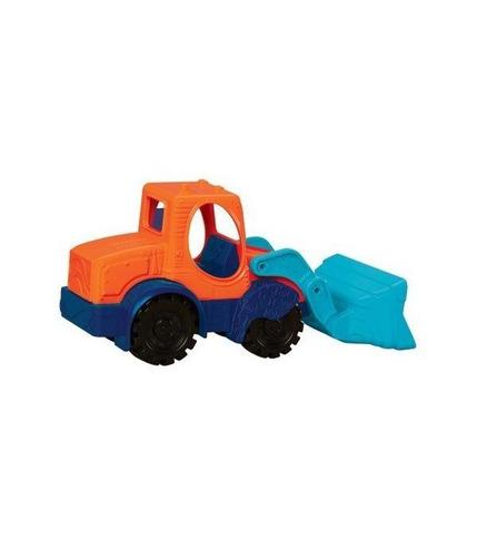 Mini Loadette - Mini koparka (14 cm) – niebieska łyżka