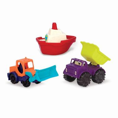 Btoys, loaders & Floaters - Zestaw 3 mini pojazdów