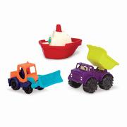 Loaders & Floaters - Zestaw 3 mini pojazdów