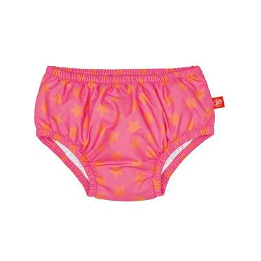 Lassig, majteczki do pływania z pieluszką Peach star, UV 50+, 24-36 mcy