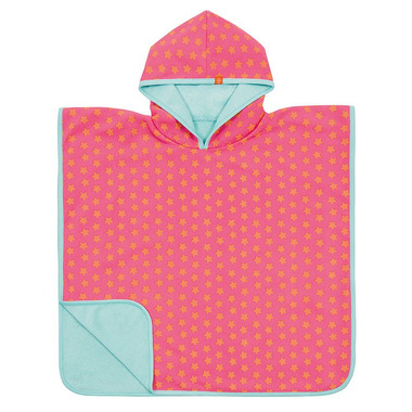 Lassig, ręcznik Poncho Peach star