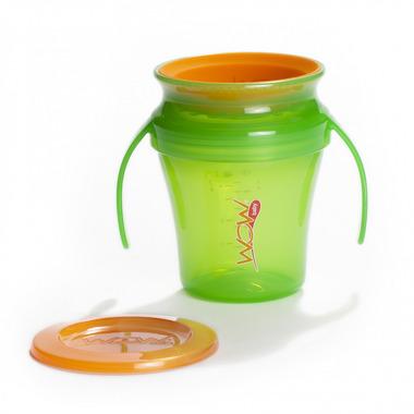 JUICY Cup Baby kubek niekapek 360° zielony
