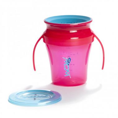 JUICY Cup Baby kubek niekapek 360° różowy