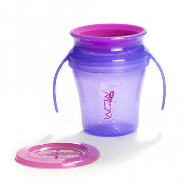 JUICY Cup Baby kubek niekapek 360° fioletowy