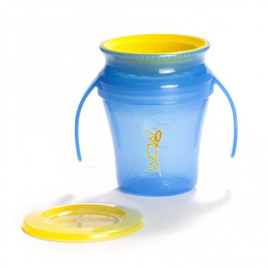JUICY Cup Baby kubek niekapek 360° niebieski