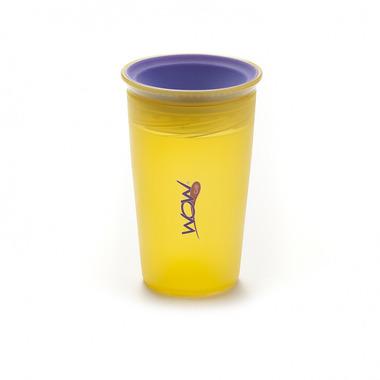 JUICE Cup Kids kubek niekapek 360° żółty