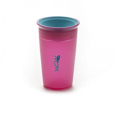 JUICY Cup Kids kubek niekapek 360° różowy