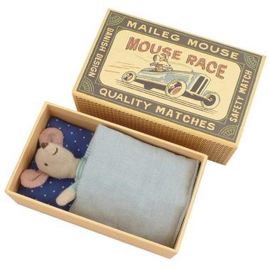 Maileg, myszka w pudełku mały braciszek
