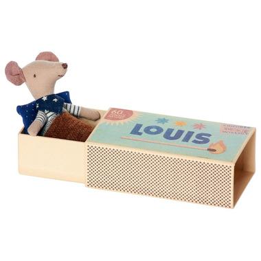 Maileg, Myszka w pudełku  Luise - starszy brat