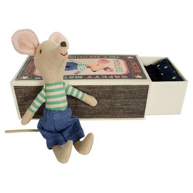Maileg, Mysz w pudełku Starszy Brat